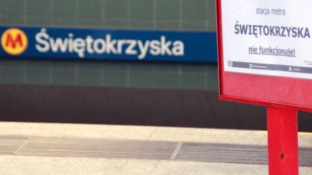 Stacja była zamknięta od 21 marca do 6 kwietnia Lech Marcinczak / tvnwarszawa.pl