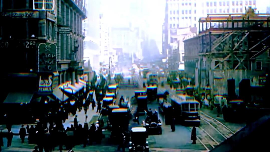 Tak wyglądał Nowy Jork w 1916 roku