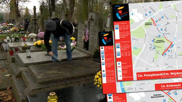 Zmiany przy cmentarzach TVN24, ZTM