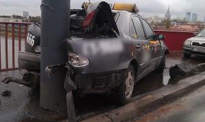 Taksówka na latarni