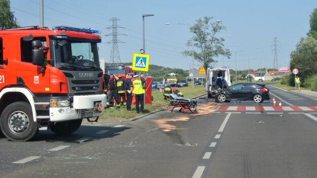Wypadek w Wilanowie. Jedna osoba nie żyje