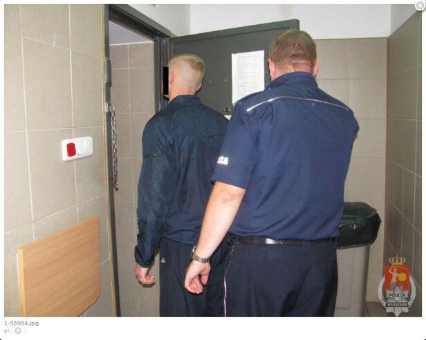 Zatrzymany 32-latek policja.waw.pl