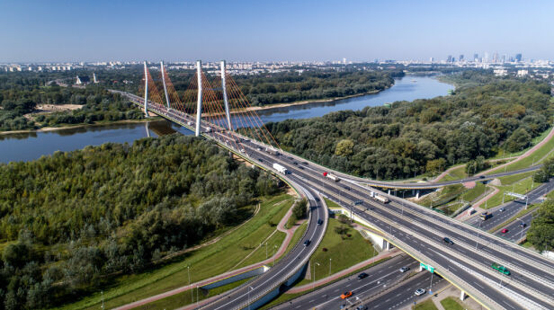 Rośnie ruch na mostach ZDM