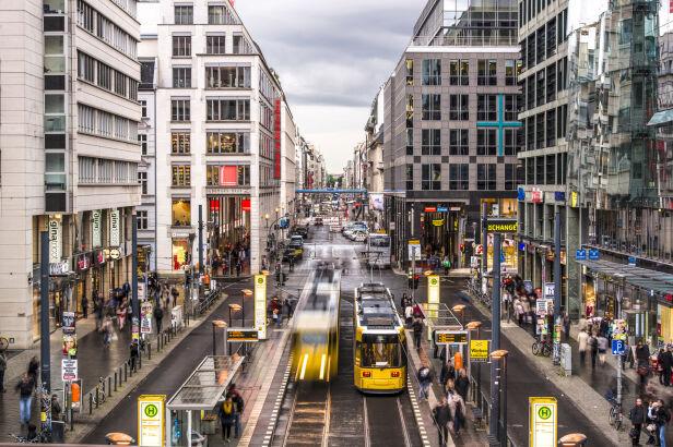 Friedrichstrasse w Berlinie