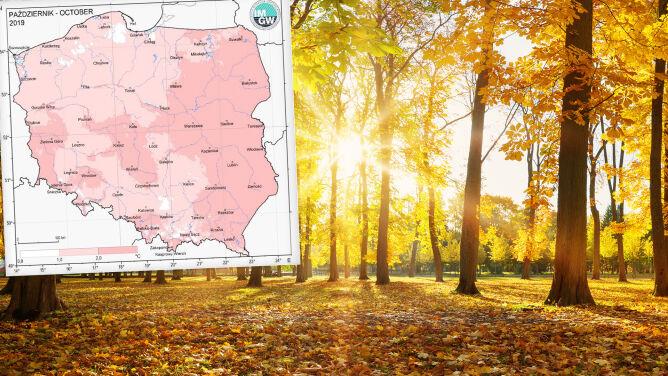 To był gorący miesiąc. IMGW podsumowuje październik w Polsce