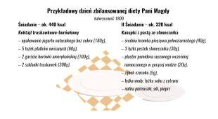 Przykładowe menu Magdy