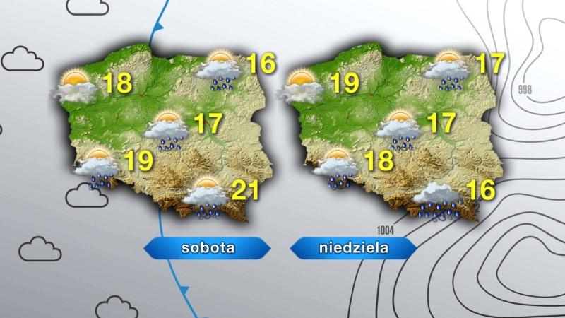 Pogoda w sobotę i niedzielę