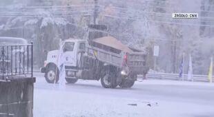 Pierwszy śnieg w stanie New Jersey